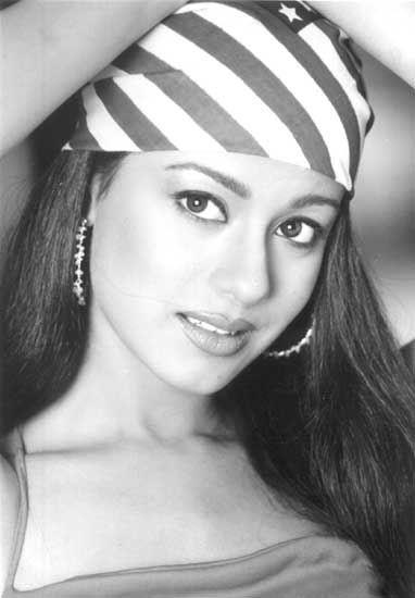 Amrita Rao Black and White Photo