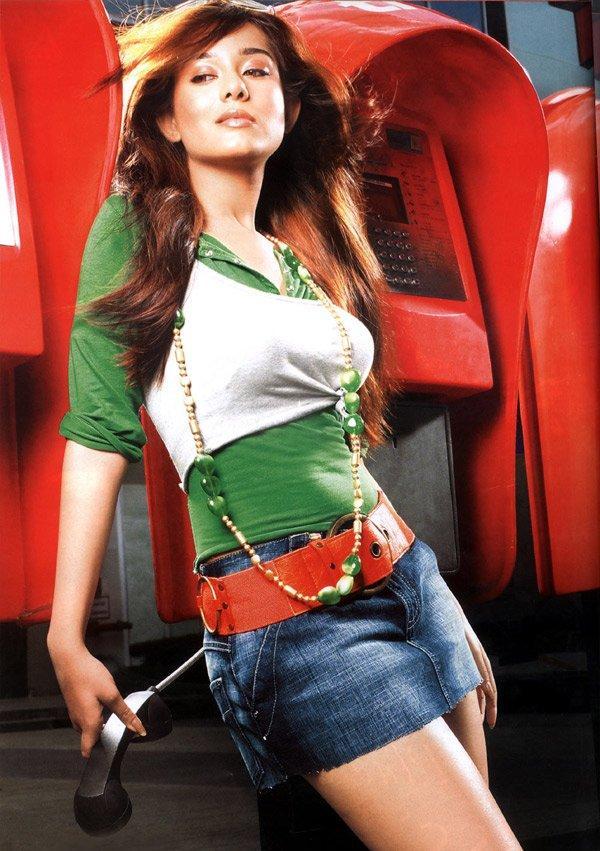 Amrita Rao Spicy Pose Photo Shoot In Mini Skirt