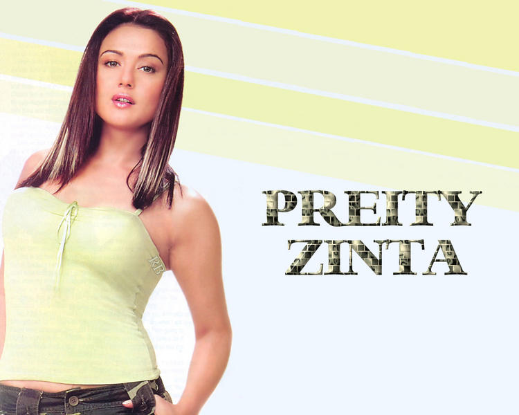 Hot Stylist Preity Zinta Wallpaper