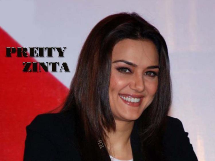 Preity Zinta Gorgeous Smile Pic