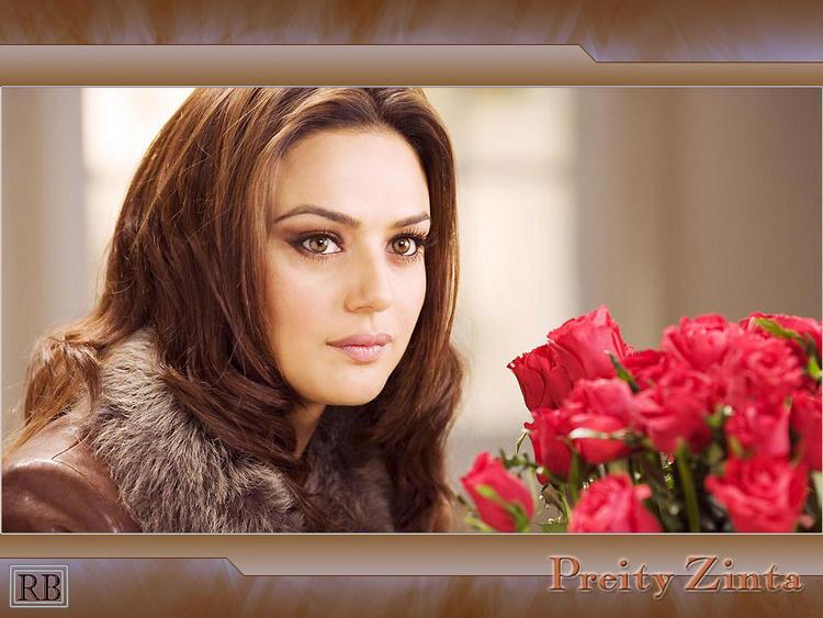 Preity Zinta Kabhi Alvida Na Kehna Look Wallpaper