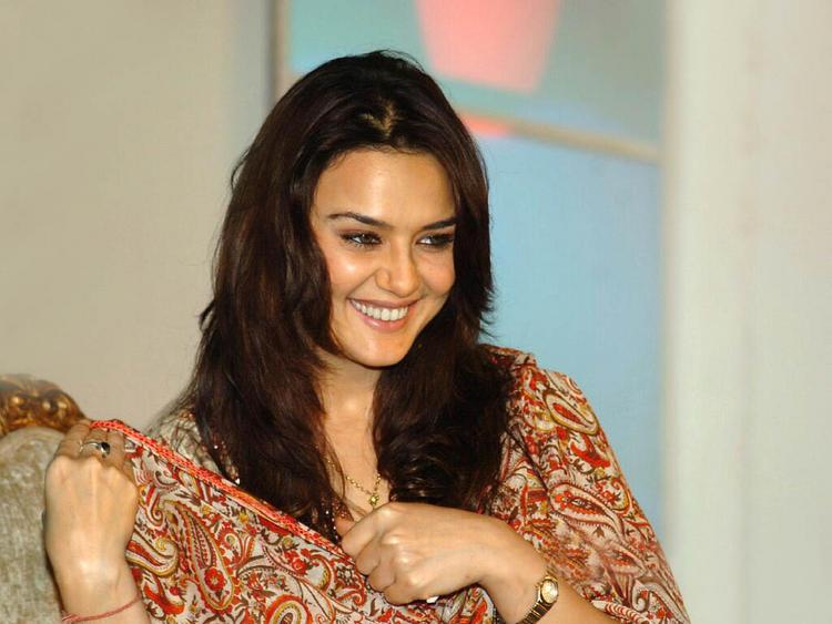 Preity Zinta Smiling Face Still