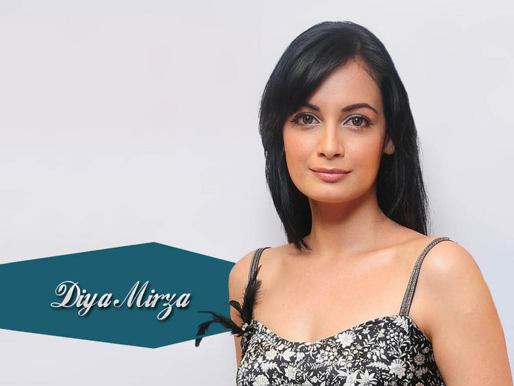 Lovely Babe Diya Mirza Wallpaper