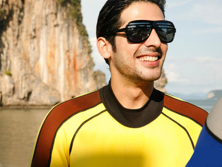 Fashionable Zayed Khan Sunglasses Pic