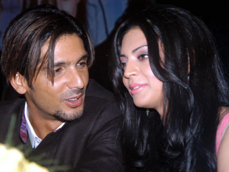 Shweta Bhardwaj and Zayed Khan Glamour Still