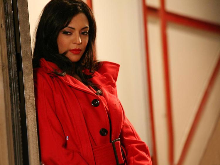 Shweta Bhardwaj In Red Blazer Nice Look Still