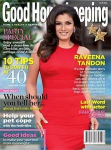 Raveena Tondon Red Dress Pic