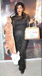 Raveena Tondon Sexy Transparent Dress Still