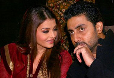 Abhishek and Aishwarya Discussion Still