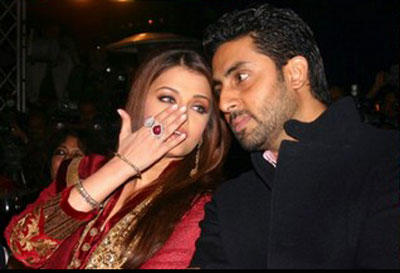 Aishwarya and Abhishek Discussion Still