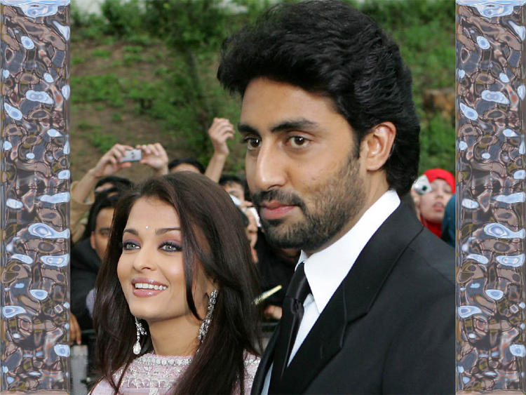 Sweetest Couple Aishwarya and Abhishek Photo