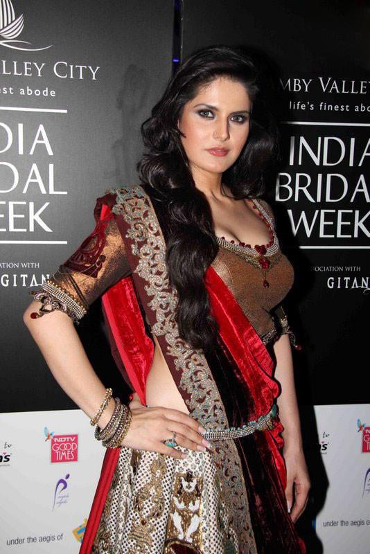 Zarine Khan at India Bridal Week