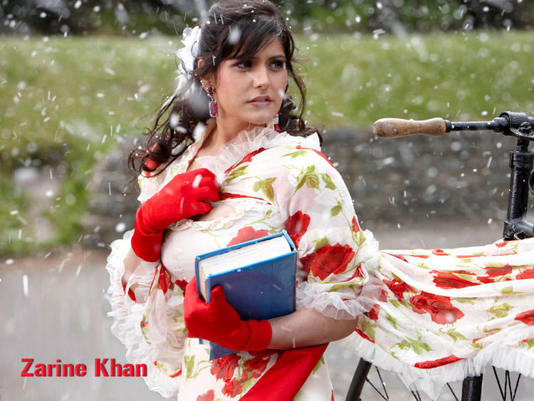Zarine Khan Latest Pic In Veer