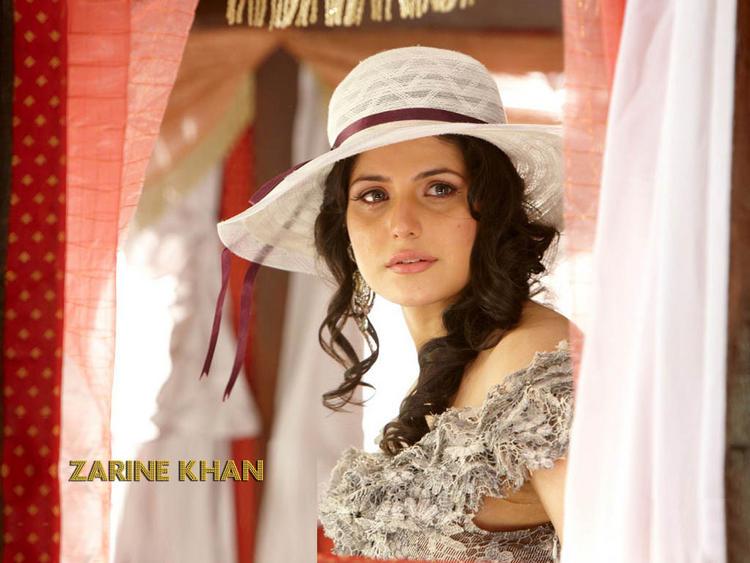 Zarine Khan Veer Look Wallpaper