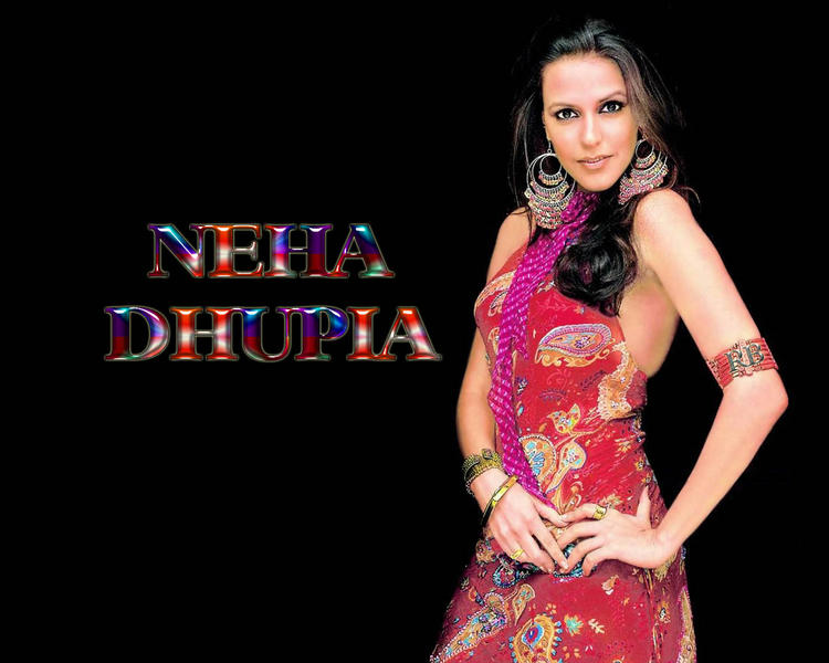 Neha Dhupia Latest Hot Sexy Wallpaper
