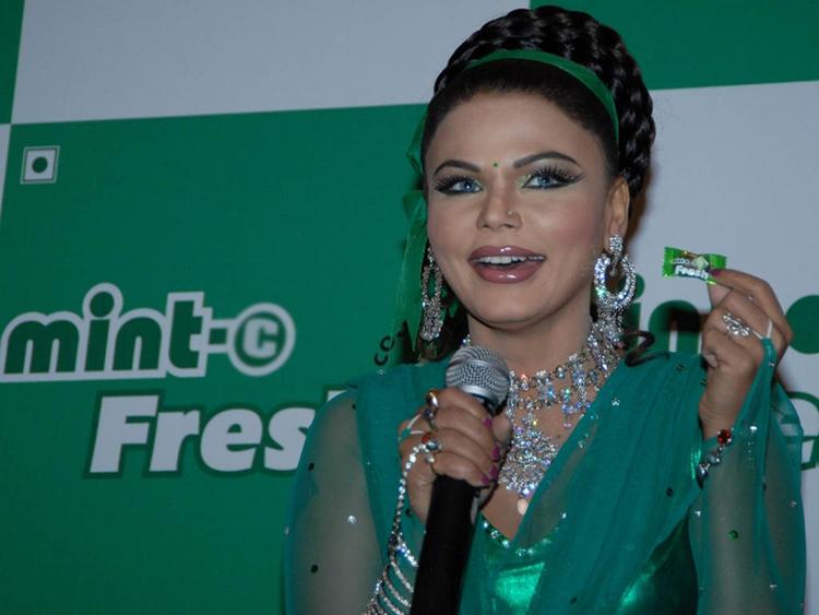 Rakhi Sawant Cute Smile Pic