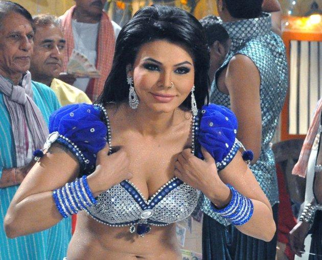 Rakhi Sawant Item Song Dance Still