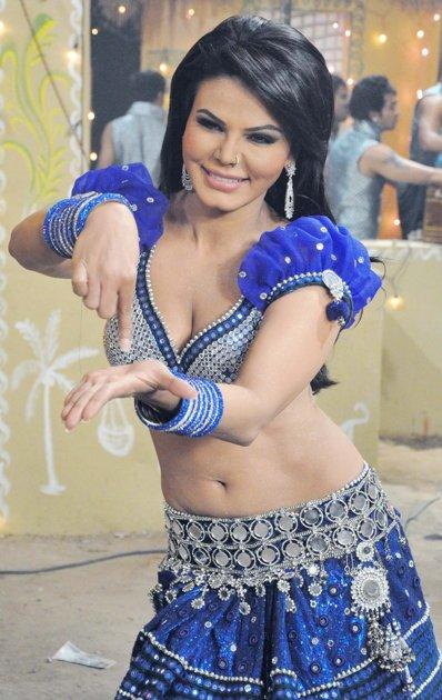 Rakhi Sawant New Item Song Dance Still