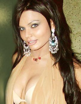 Rakhi Sawant Sexy Boob Show Still