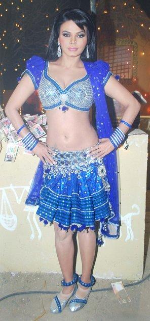 Rakhi Sawant Sexy Dress Still