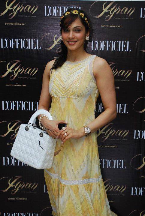 Eesha Koppikhar At L'Officiel India's 10th Anniversary Celebratory Lunch