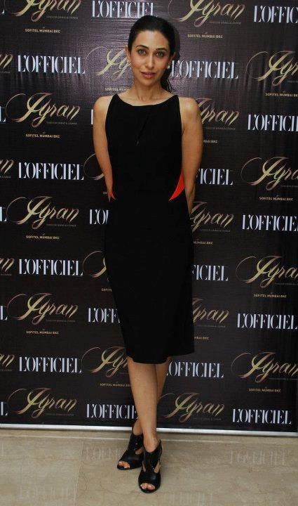 Karishma Kapoor At L'Officiel India's 10th Anniversary Launch