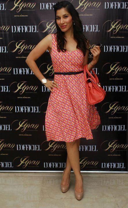 Sophie Choudry At L'Officiel India's 10th Anniversary Launch