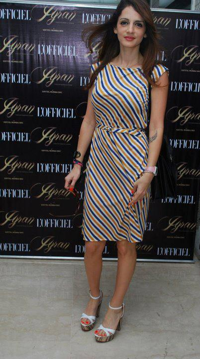 Sussanne Roshan at L'Officiel India's 10th Anniversary Celebratory Lunch