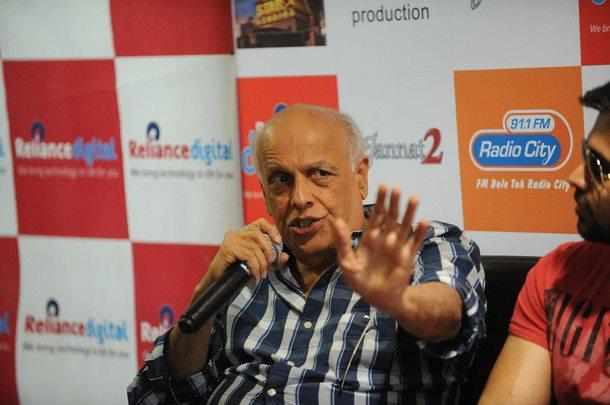 Mahesh Bhatt Promotes Jannat 2 in Ahmedabad