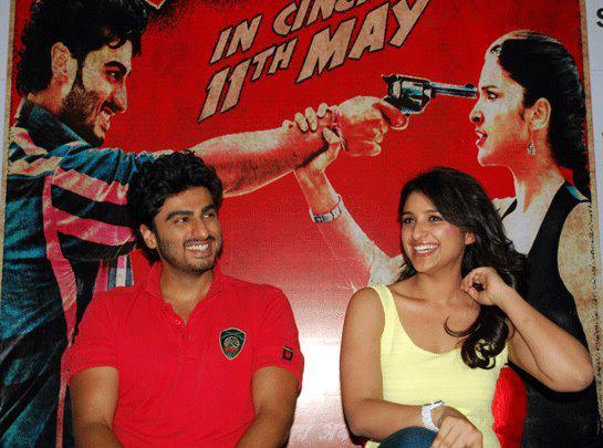 Parineeti Chopra and Arjun Kapoor Promote Ishaqzaade in Indore