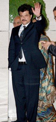 Anil Kapoor at Nita and Mukesh Ambani's Party