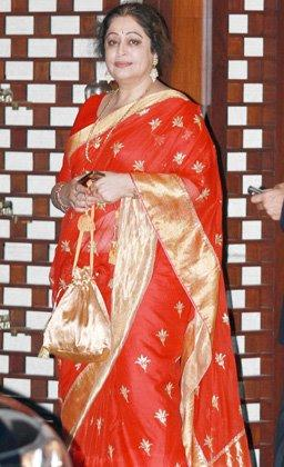 Kirron Kher at Nita and Mukesh Ambani's Party