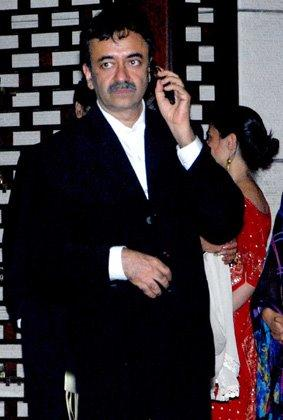 Raju Hirani at Nita and Mukesh Ambani's Party