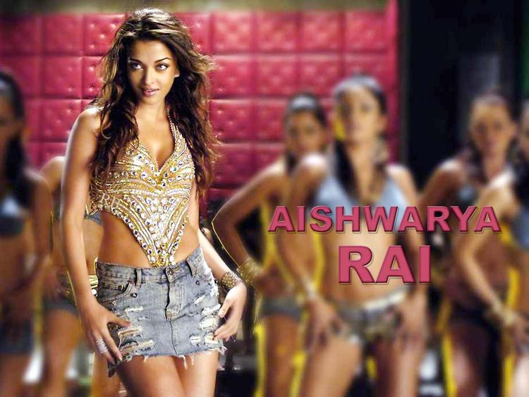 Aishwarya Rai Dance Still Wallpaper In Mini Skirt