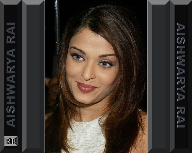 Aishwarya Rai Red Sweet Lips Wallpaper