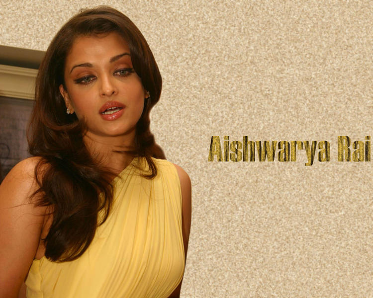 Aishwarya Rai Sexy Face Wallpaper