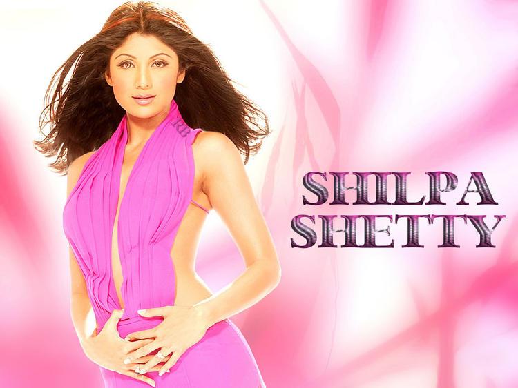 Shilpa Shetty Sexy Dress Wallpaper