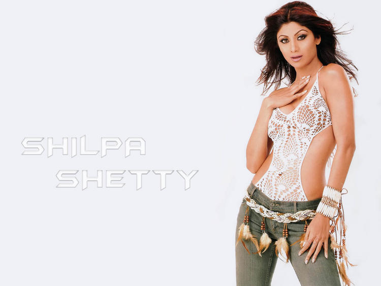 Shilpa Shetty Sexy Dressing Wallpaper