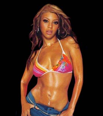 Beyonce Knowles Sexy Navel Show Photo Shoot