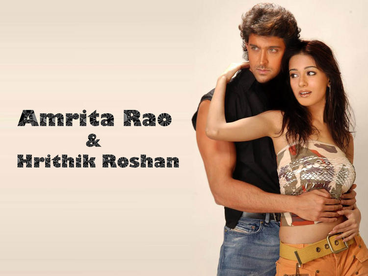 Hrithik Roshan And Amrita Rao Wallpaper