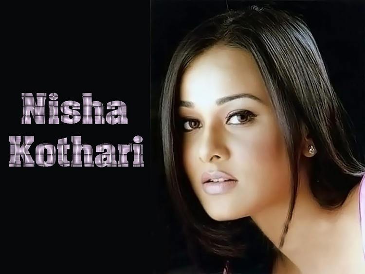 Nisha Kothari Beauty Face Wallpaper