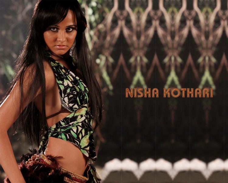 Nisha Kothari Killer Look Wallpaper