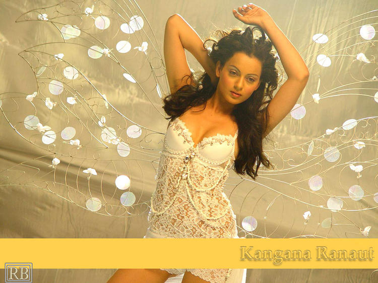Kangana Ranaut Sexy Dressing Still