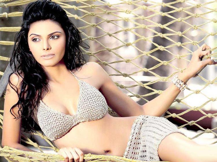 Mona Chopra Sizzling Pic In Two Piece Dress