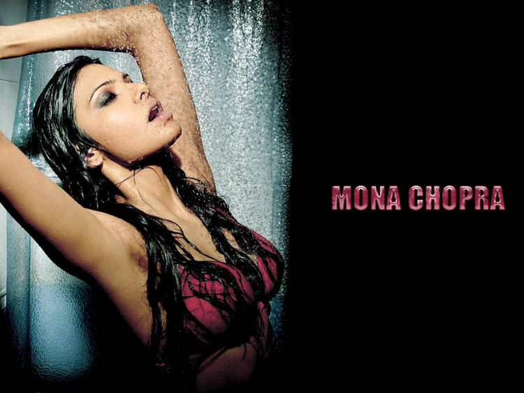 Mona Chopra Wet Swim Still