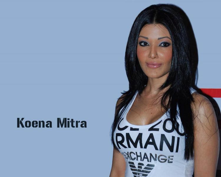 Bold Actress Koena Mitra Wallpaper