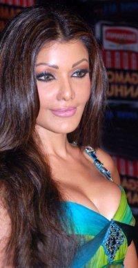 Koena Mitra Silky Hair Sexy Boob Pic