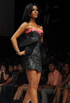 Koena Mitra Walk at Lakme Fashion Week