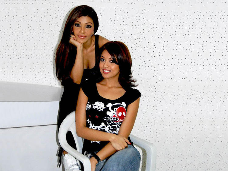Tanushree Dutta and Koena Mitra Poses To Photo Shoot