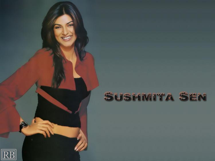Sushmita Sen Sweet Smile Sexy Still